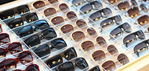 óculos de sol falsificados - ponto de visão