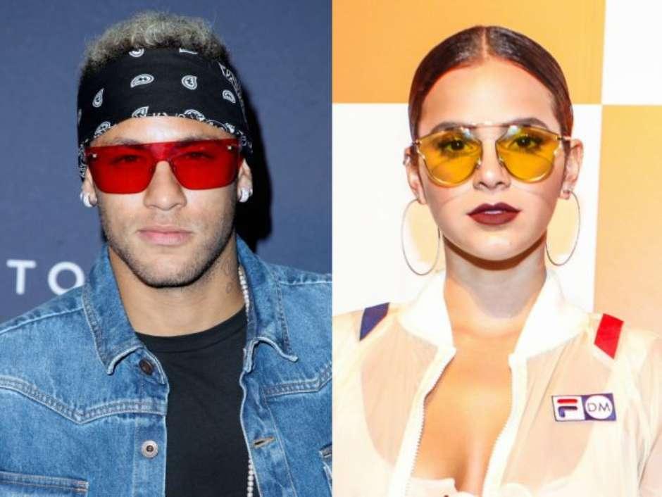 lentes coloridas - neymar e marquezine