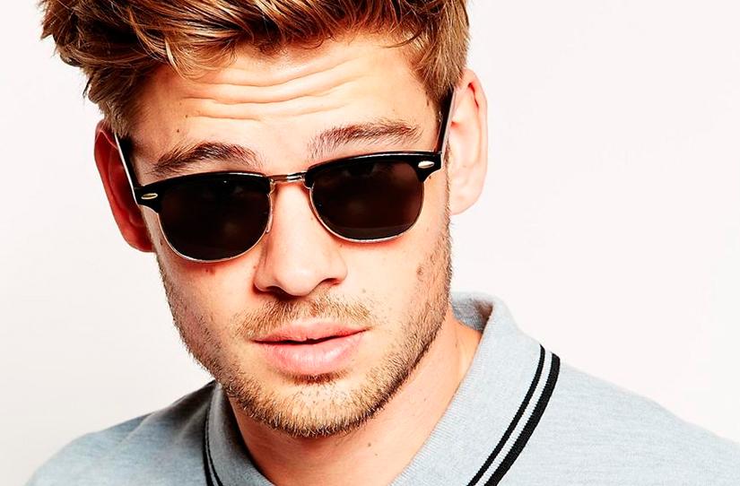 Óculos - Rostos Masculinos - Ponto de Visão