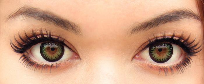 Lentes de contato coloridas - Ponto de Visão