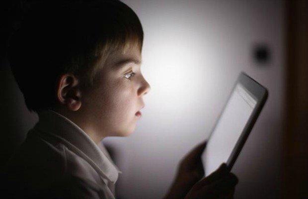 Olhos das crianças durante a noite - Ponto de Visão