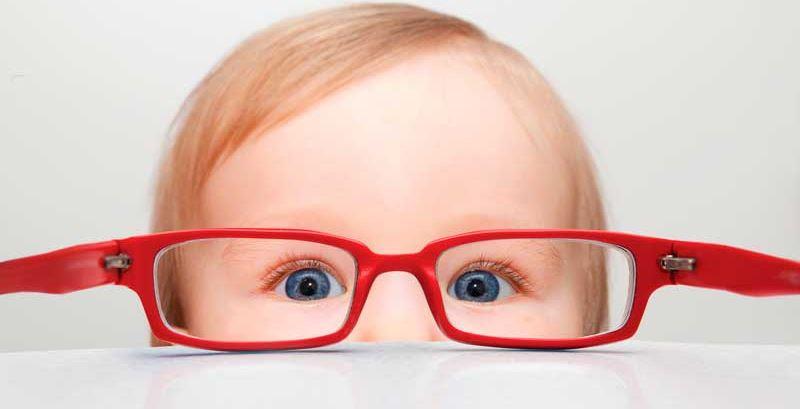 Óculos infantis - Ponto de Visão