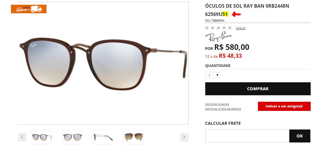 Comprar óculos online - Ponto de Visão 85a3899737