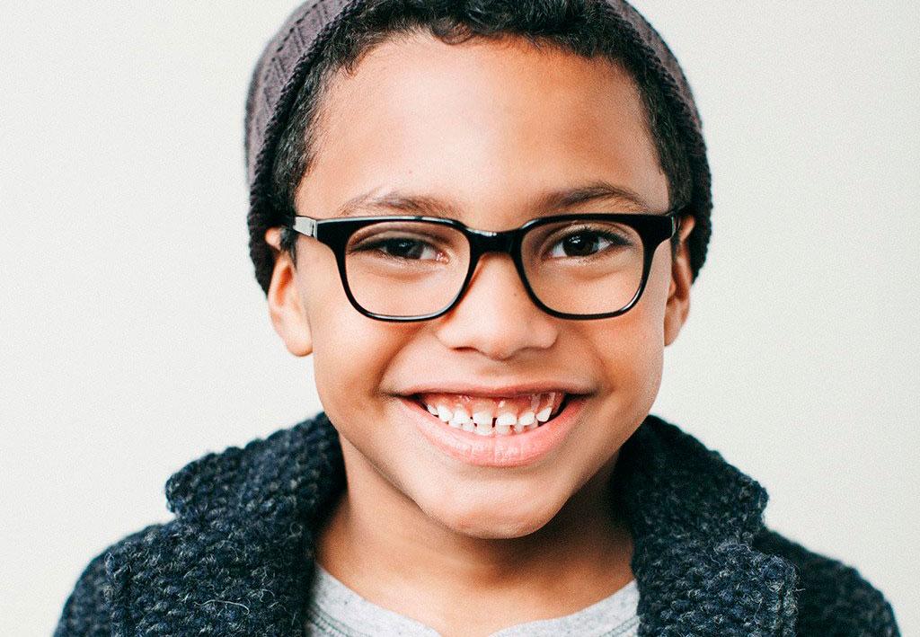 Crianças e óculos - Ponto de Visão