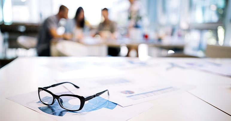 conservar o óculos - ponto de visão