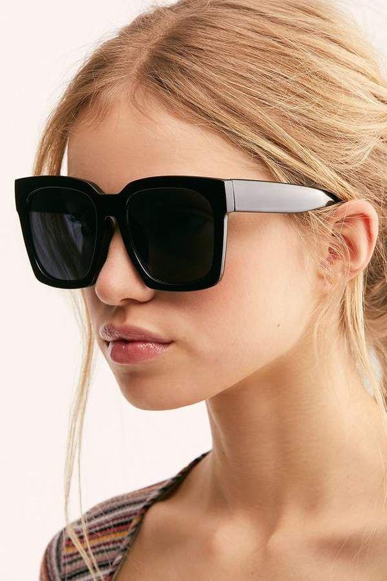 Imagem de óculos de sol oversized tendência