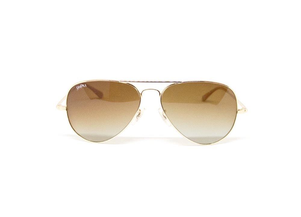 Imagem de óculos de sol modelo aviador da marca San Paul