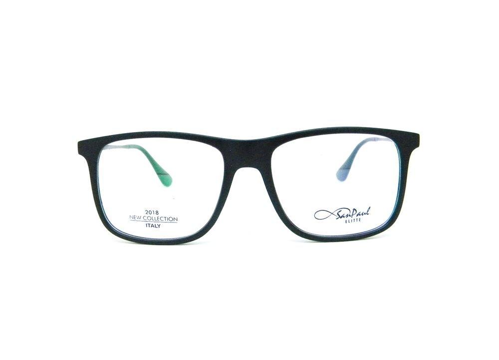 Imagem do óculos de grau modelo Wayfarer da marca San Paul
